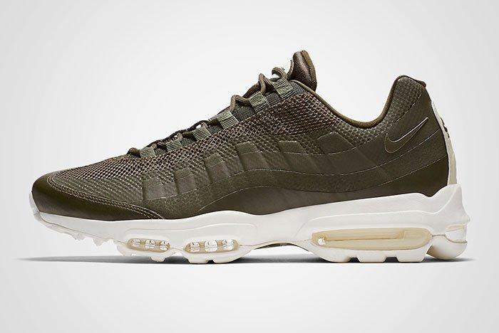 Nike Air Max 95 Ultra Essential (Cargo Khaki) - Sneaker Freaker