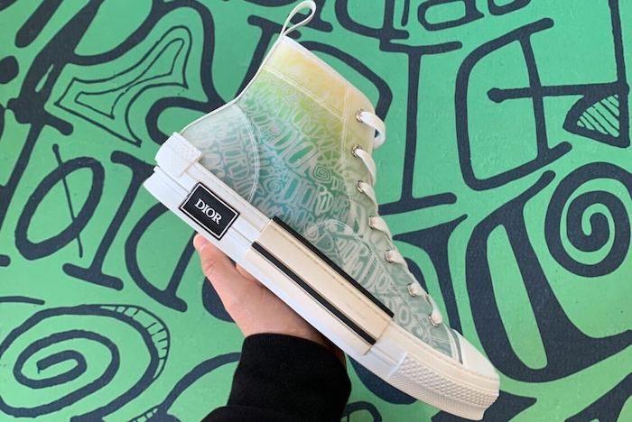 Dior Stussy B23 Sneaker 1