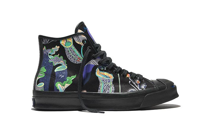 Converse Jack Purcell Signature High Carnivorous Print Black 2