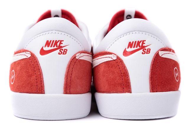 Fragment Design Nike Koston Red Heel
