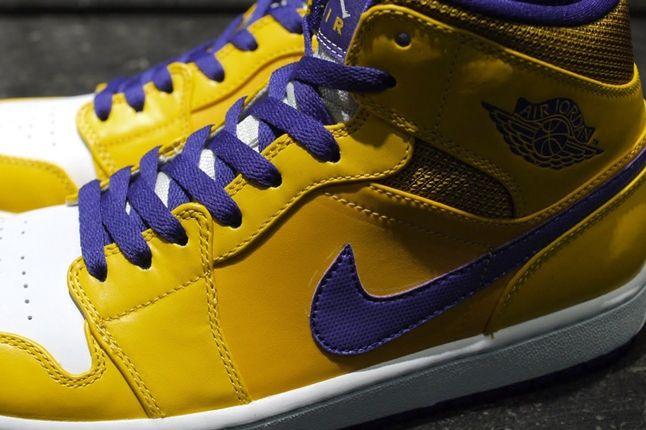 Air Jordan 1 Lakers Swoosh 1