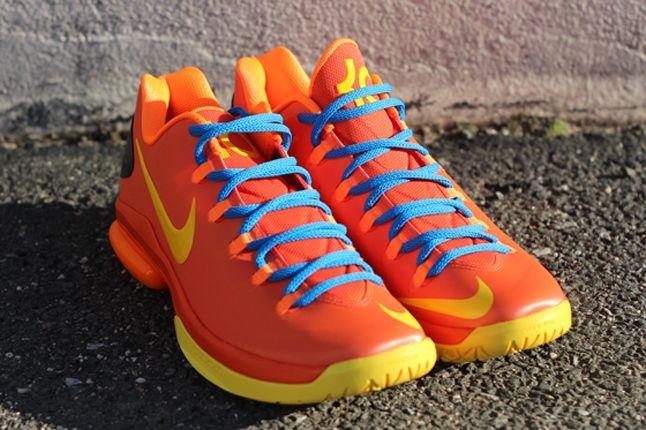 Nike Kd V Team Orange 1