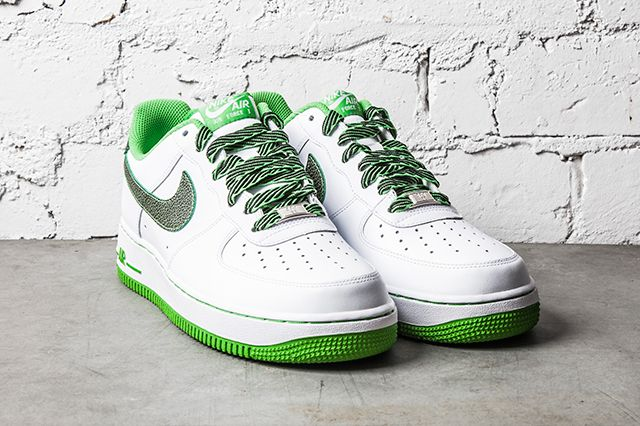 Nike Air Force 1 Green Apple 1