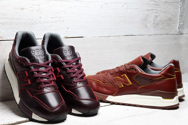 Horween Leather New Balance 998 Pack Bumper 11
