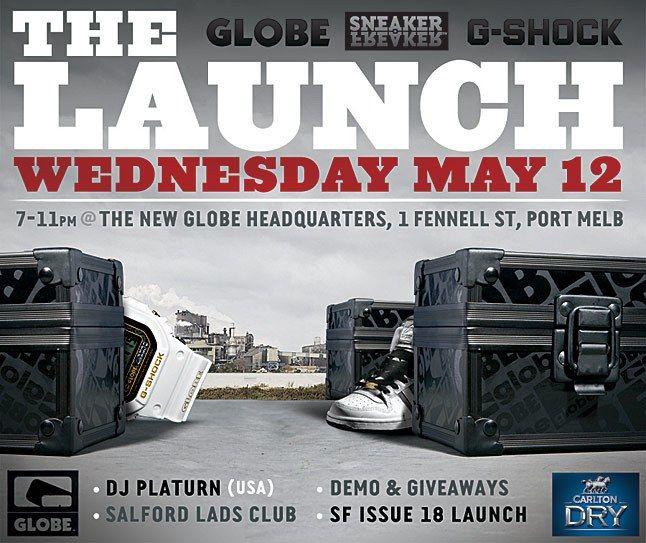 Issue18 Launch Globe 1