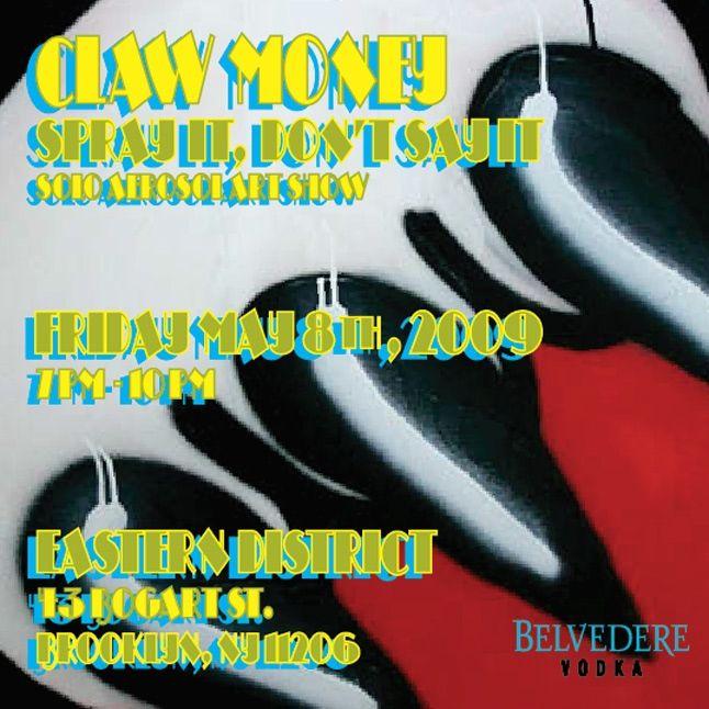 Claw Money Solo Exhibition 1