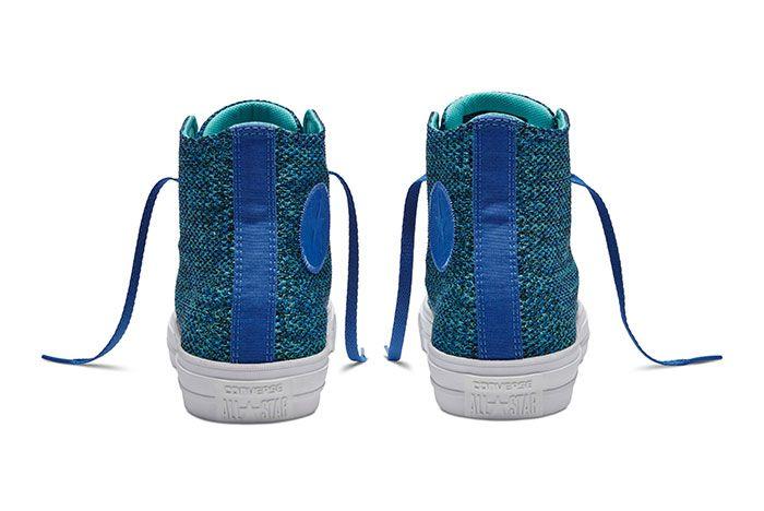 Converse Chuck Taylor All Star High Open Knit Blue 2