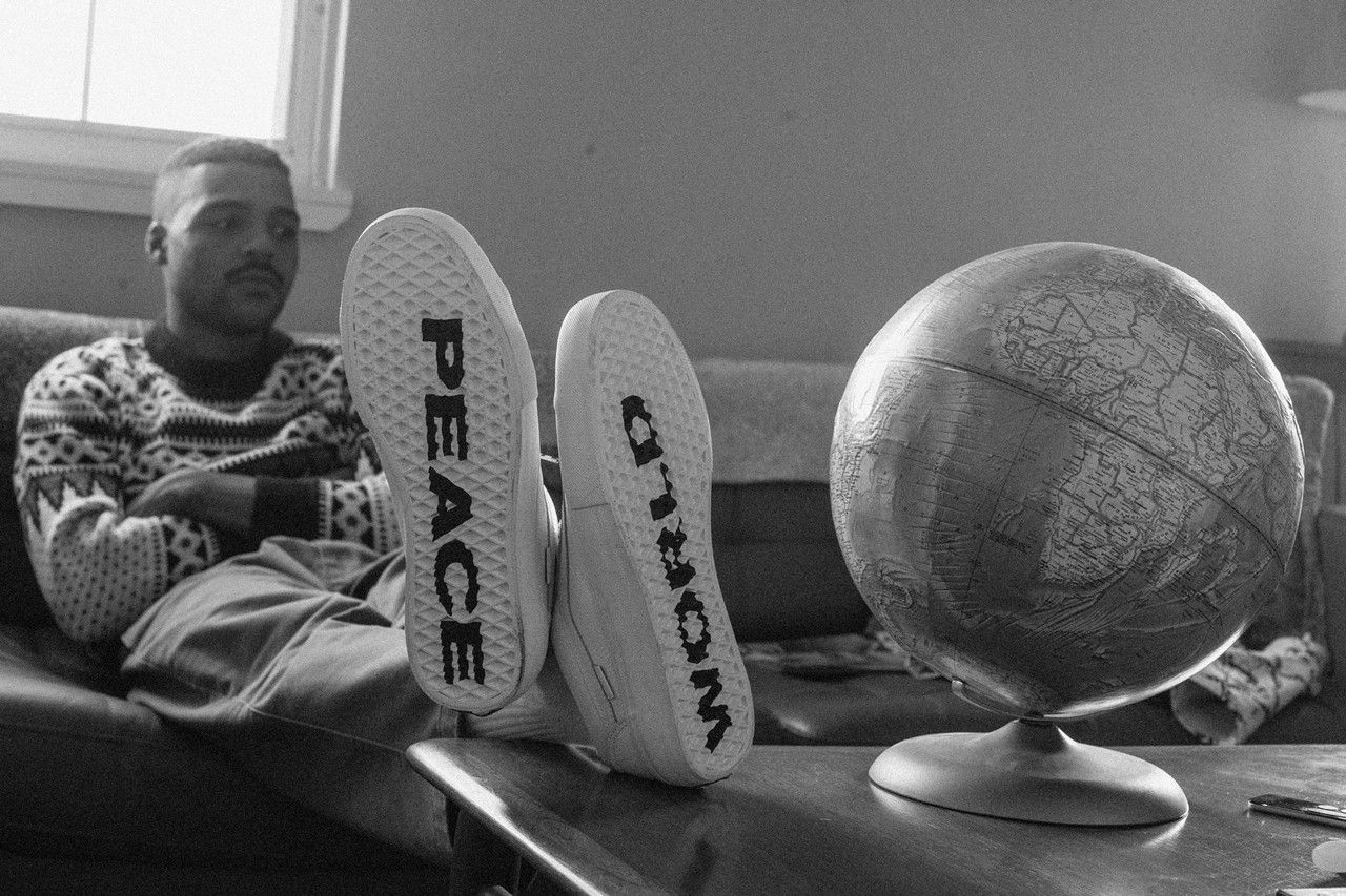 Vans Justin Henry Style 36 World Peace On Foot
