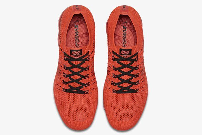 Clot Nike Air Vapormax Red 6