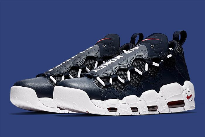 Nike Air More Money Blue 2
