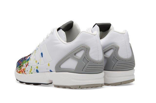 Adidas Zx Flux Splattered Toe Bumper 2