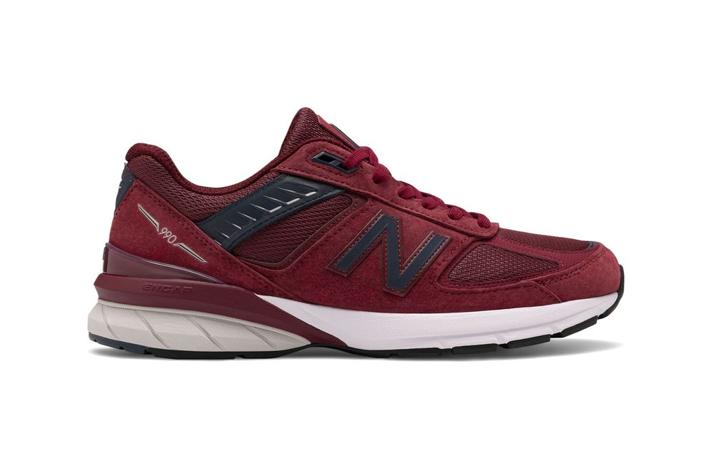 New Balance 990 Burgundy Right