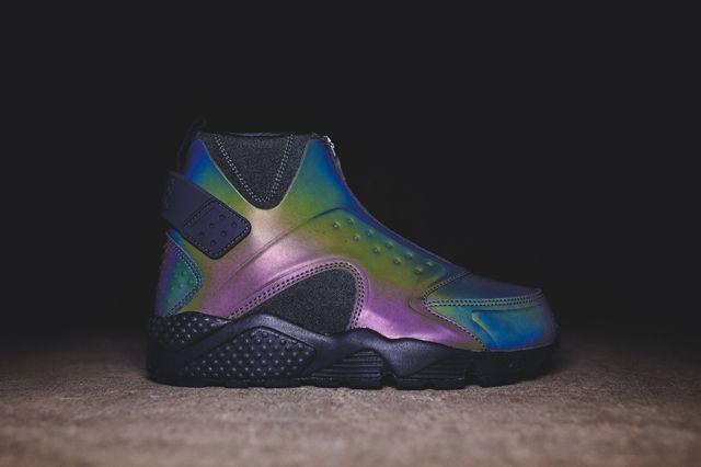 Nike Huarache Run Mid Irisdescent Kith Bump 5