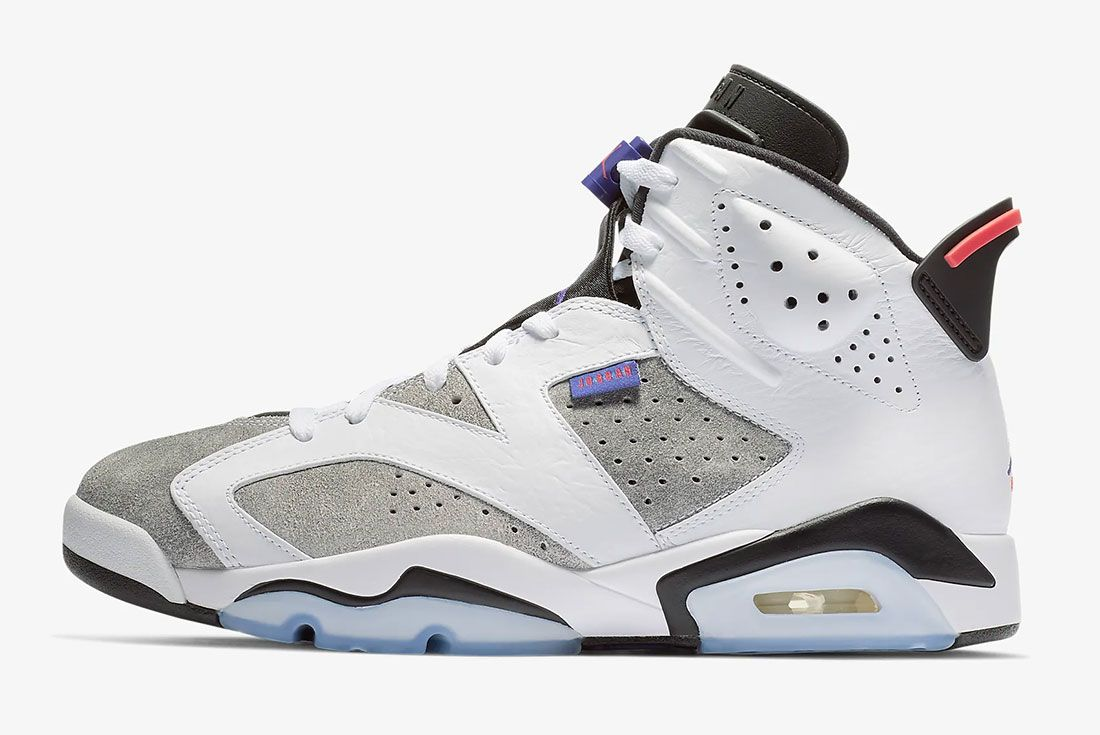 Air Jordan 6 Flint Side Shot