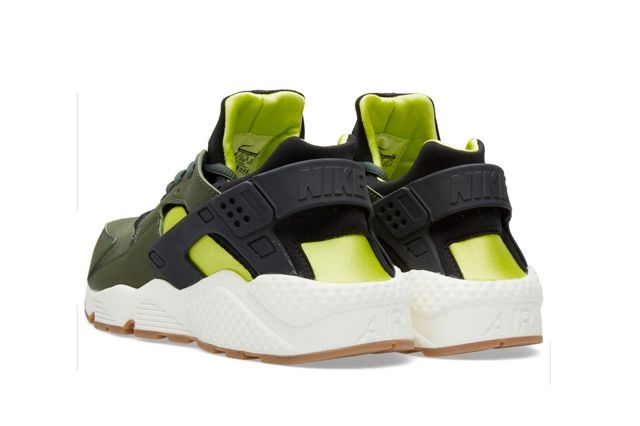 Nike Huarache Carbon Green Black 2