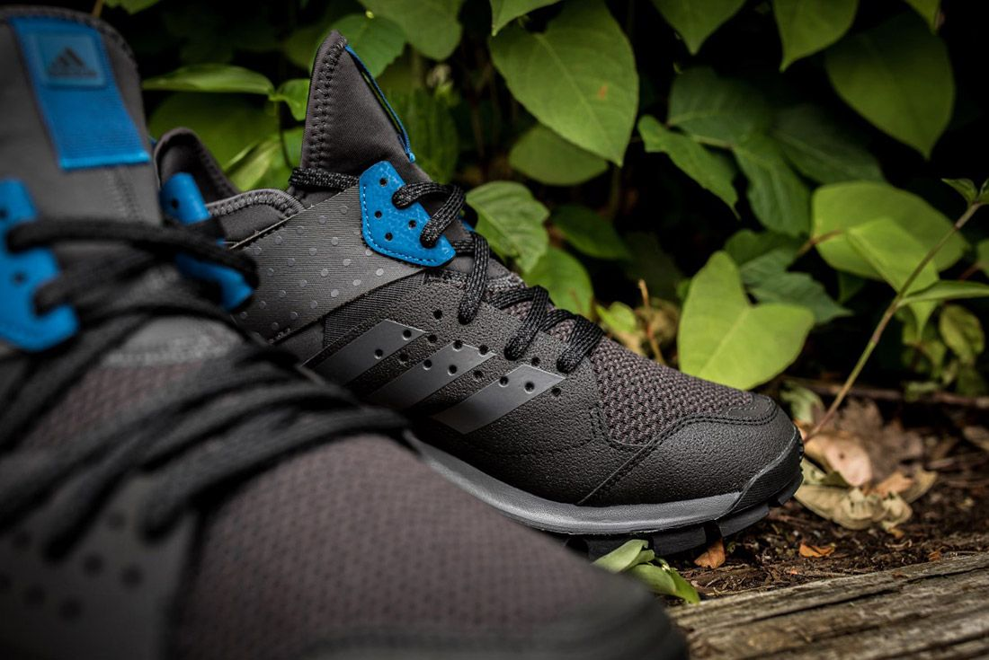 Adidas Response Trail Boost Black Navy 4