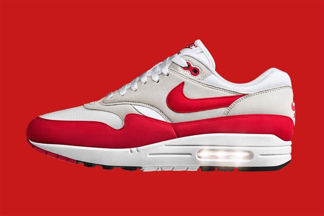 Nike Air Max 1 Og Retro University Red 4