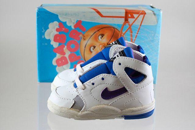 Nike Baby Sport Flight Huarache Purple Royal Blue