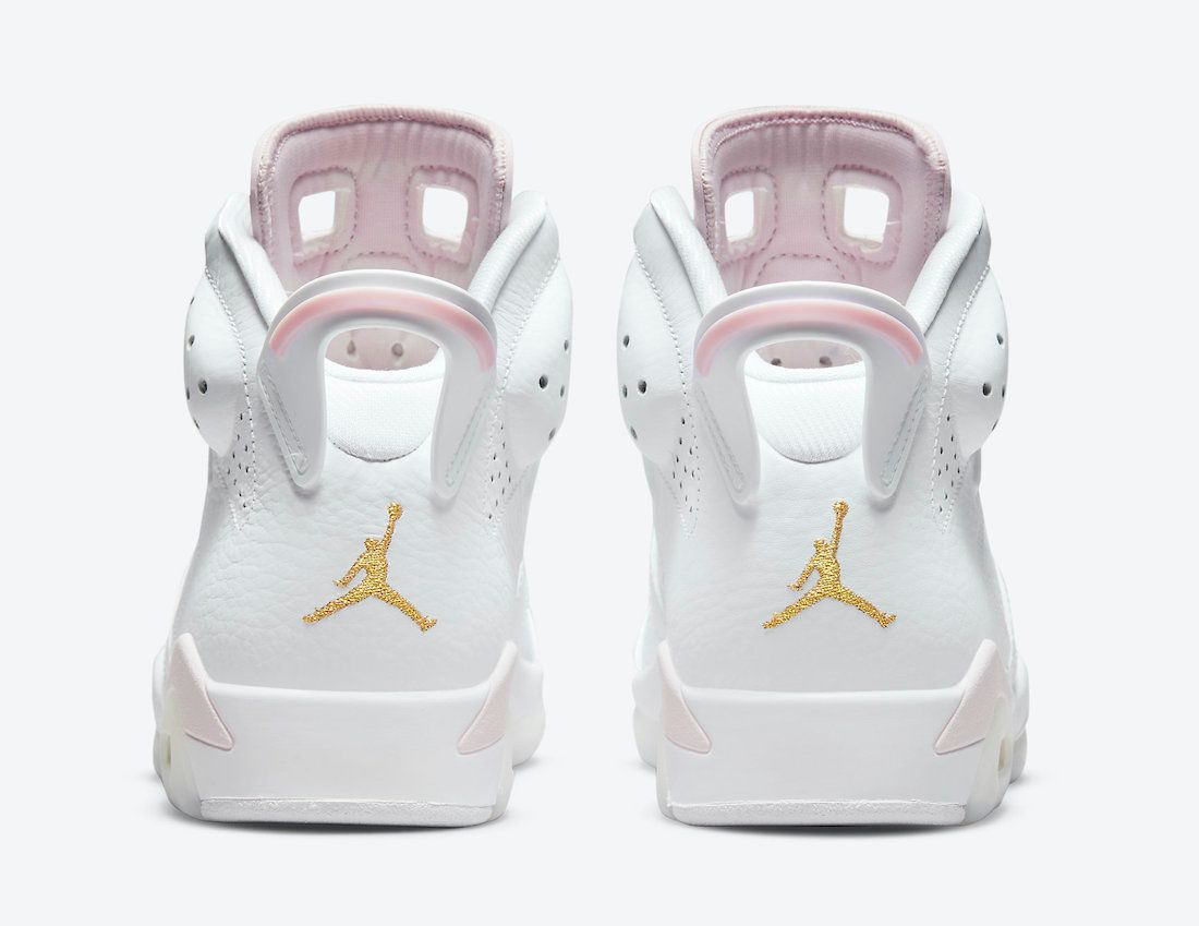 Air Jordan 6 Gold Hoops