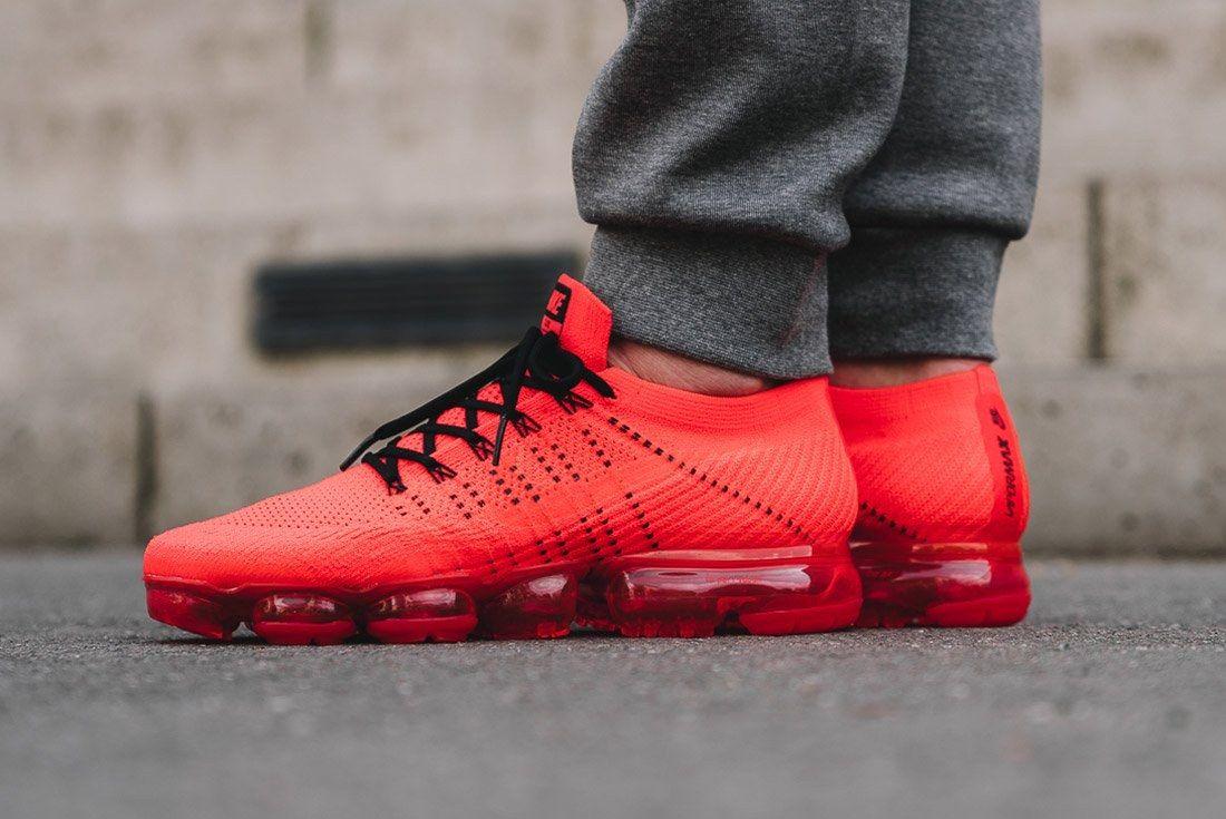 Nike Air Vapormax Clot Red 5