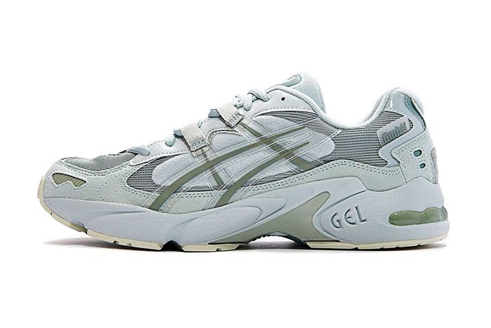 Gmbh Asics Gel Kayano 5 Green Lateral Side Shot