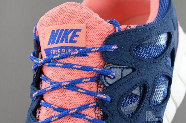 Nike Free Run 2 Brave Blue Atomic Pink 6