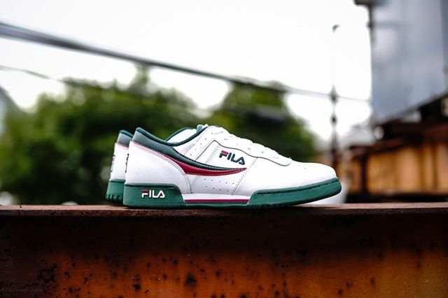 Fila Original Fitness White Green