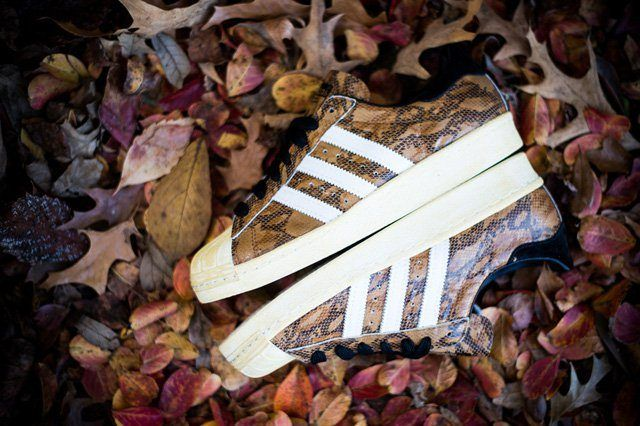Adidas Superstar 80S Woodland Camo 2