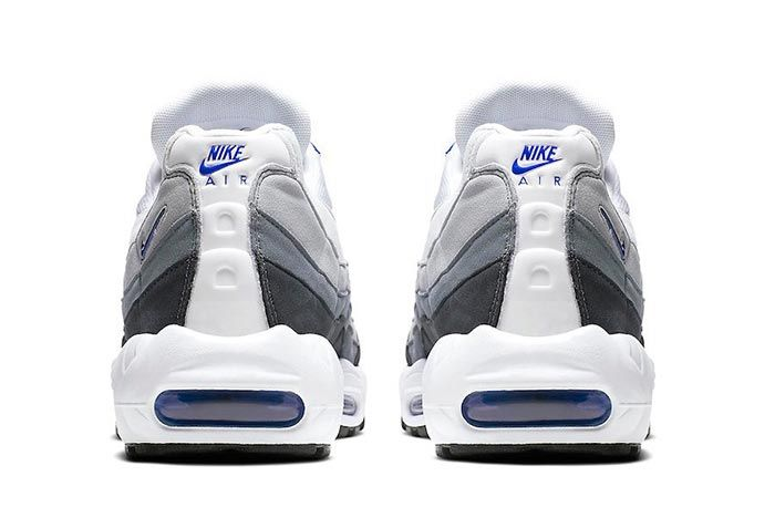 Nike Air Max 95 Sc Racer Blue Heel Shot 3