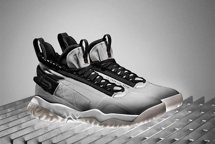 Jordan Proto React Release Date 1 White Pair Side Shot