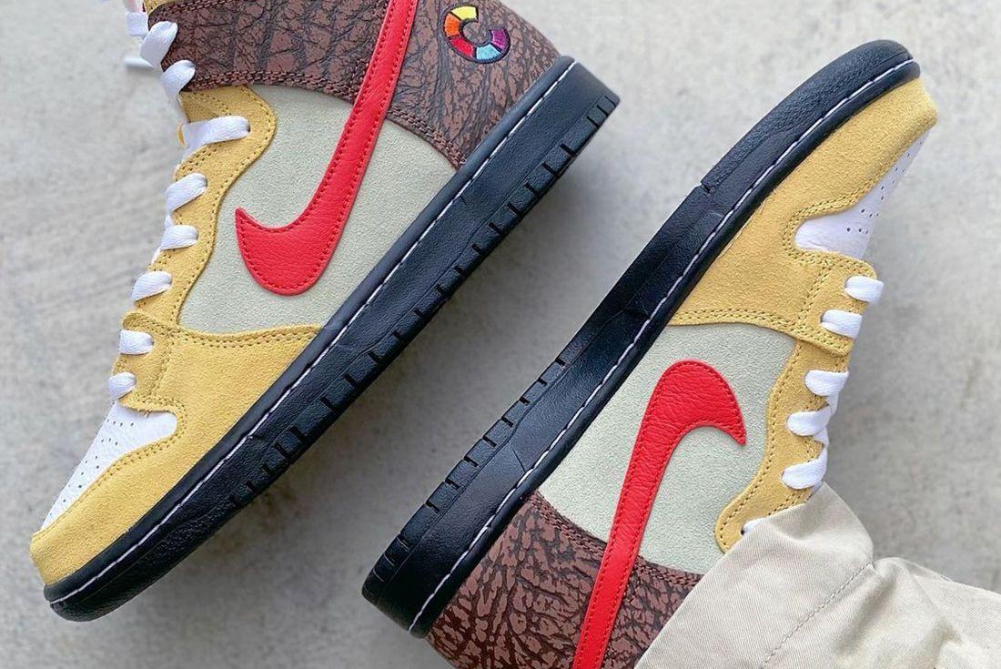 Color Skates Nike SB Dunk High Kebab and Destroy