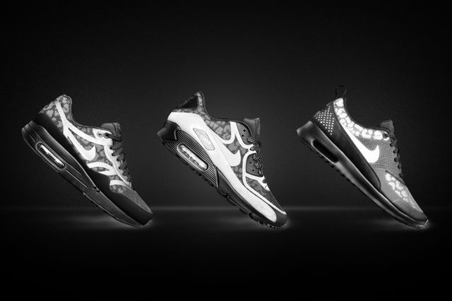 Nike Air Max Black Reflective Collection