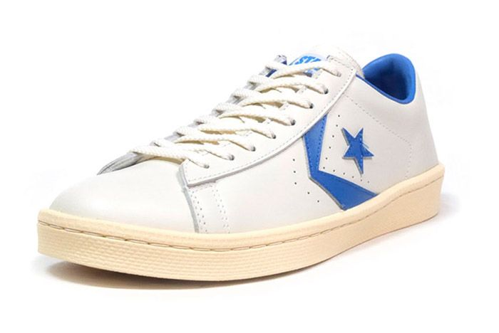 Converse Pro Leather Low 76 Ox Limited Edition White Blue 5