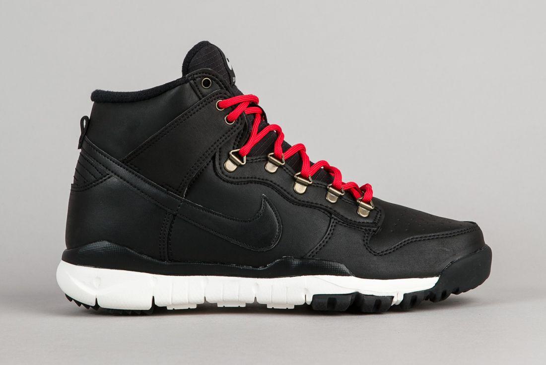 Nike Sb Dunk High Boots Black Sail 5