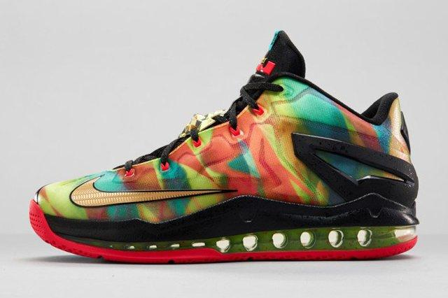 Nike Le Bron 11 Low Se Multicolor 04