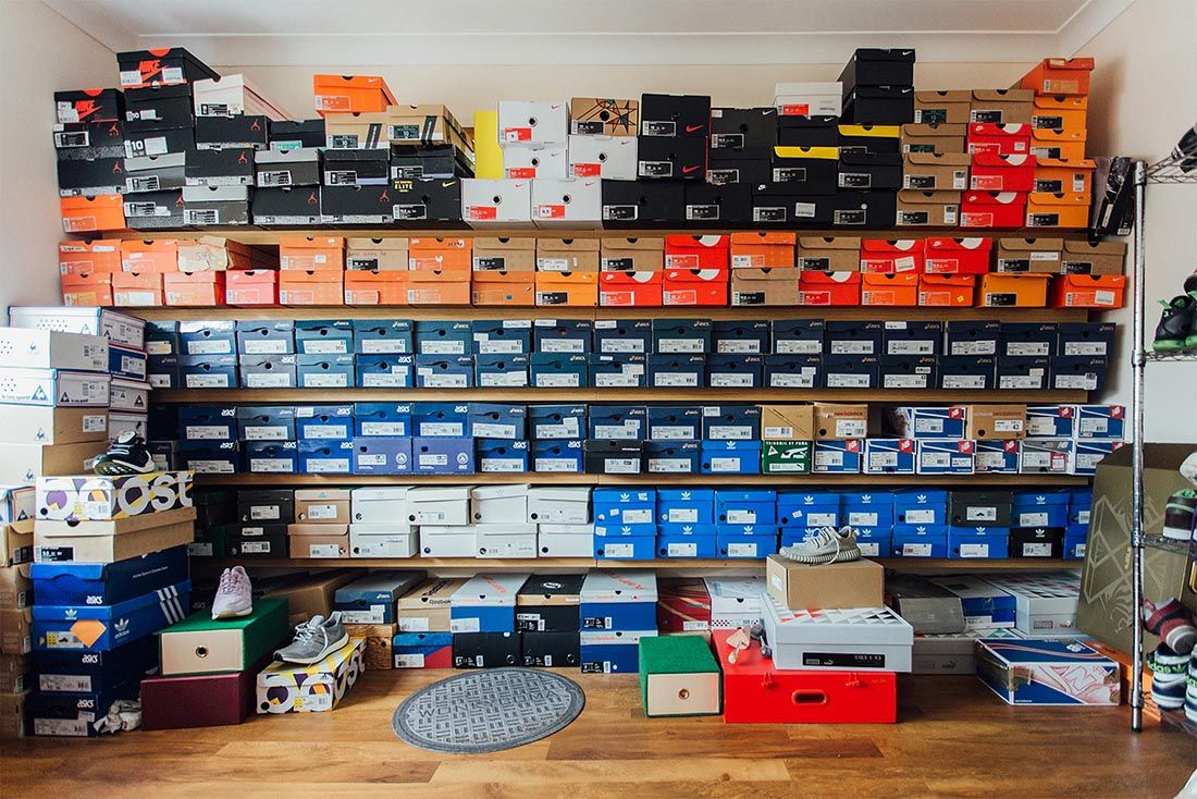 Collection Sneaker Storage Tips Sneakerhub Feature