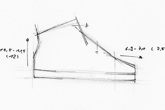 Grundform Schuh 1