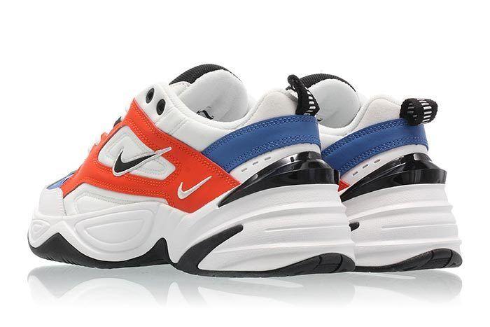 Nike M2K Tekno Summit White Team Orange 2