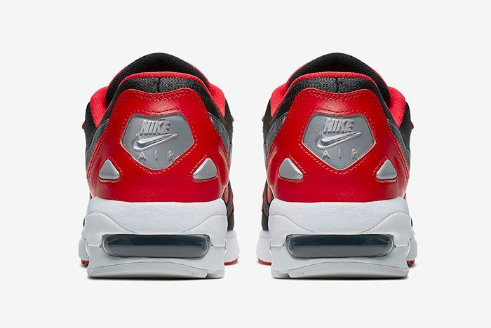 Nike Air Max2 Light University Red Ao1741 601 Release Date 5 Heel