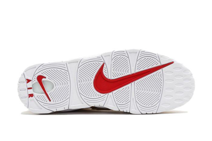 Supreme X Nike Air More Uptempo Metallic Gold6