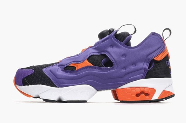 Reebok Instapump Fury Sport Violet Black Swag Orange 1