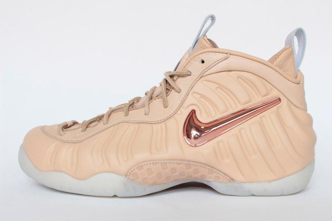 Nike Air Foamposite Vachetta Tan 2