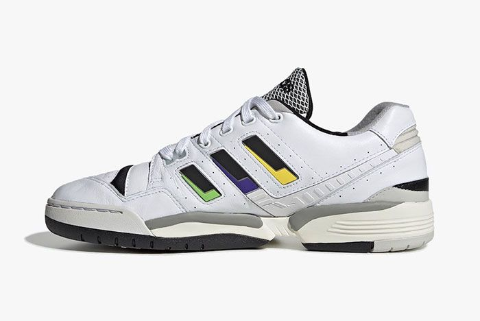 Adidas Torsion Comp White Black Solar Yellow Ee7376 Medial