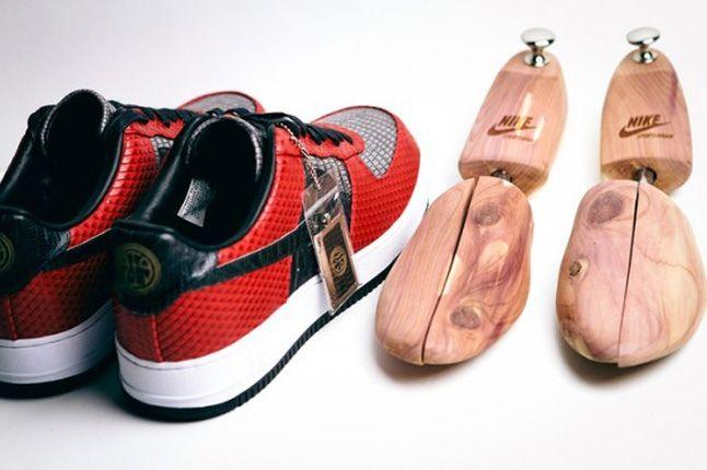 Andre Iquodala Marcus Troy Nike Af1 Bespoke Heel Foot Molds