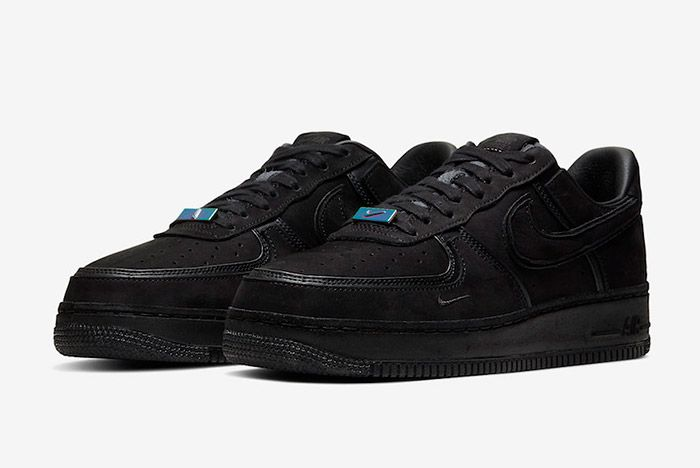A Ma Maniere Nike Air Force 1 Black Hand Wash Cold Cq1087 002 Front Angle