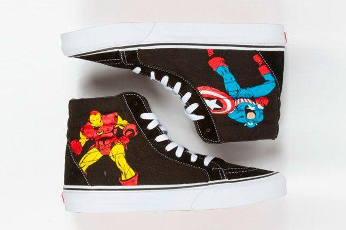 Vans Marvel Avengers Collection Sneaker Freaker 2