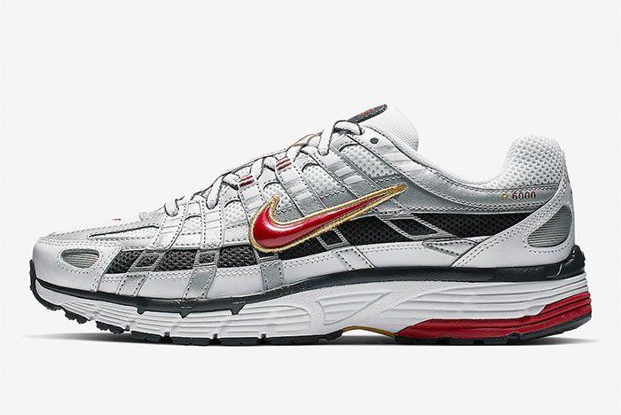 Nike P 6000 Silver Side Shot 2