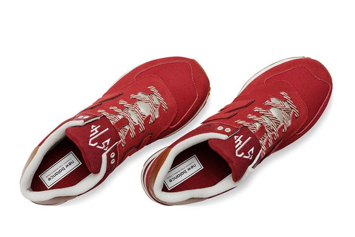 New Balance 574 Collegiate Pack Red 2