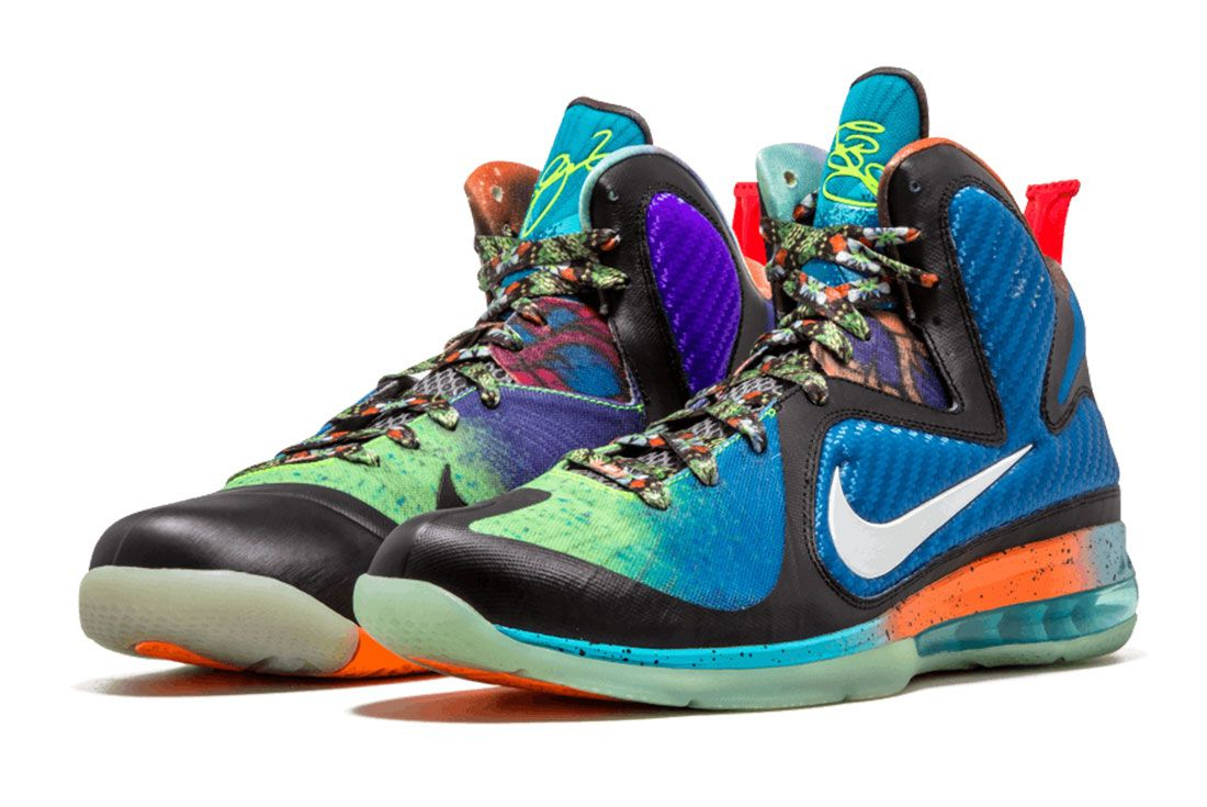 Nike Lebron 9 What The Lebron Pair