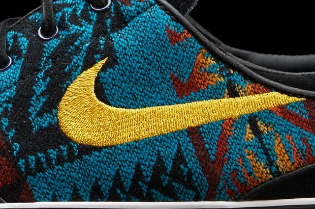 Nike Janoski Pendleton Detail 2